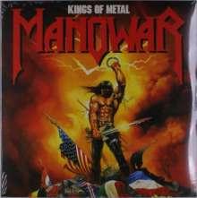 Manowar: Kings Of Metal (Colored Vinyl), 2 LPs