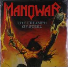 Manowar: The Triumph Of Steel (Colored Vinyl), 2 LPs