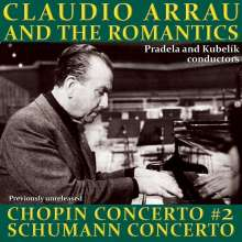 Claudio Arrau and the Romantics, CD