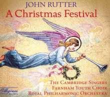 John Rutter (geb. 1945): A Christmas Festival, CD