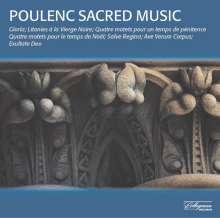 Francis Poulenc (1899-1963): Geistliche Chorwerke, CD
