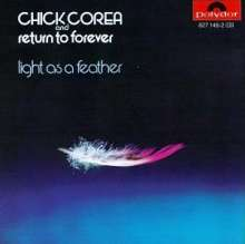 Chick Corea (geb. 1941): Light As A Feather, CD