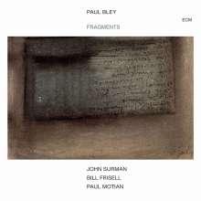 Paul Bley (1932-2016): Fragments, CD