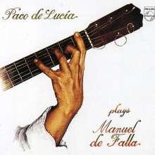 Paco de Lucia (1947-2014): Interpreta A Manuel de Falla, CD