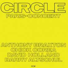 Circle (Anthony Braxton, Chick Corea David Holland & Barry Altschul): Paris Concert, 2 CDs