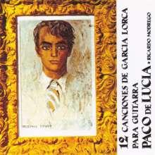Paco de Lucia (1947-2014): 12 vCanciones De Garcia Lorca, CD