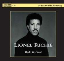 Lionel Richie: Back To Front (K2HD Mastering) (Ltd. Edition), CD