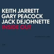 Keith Jarrett (geb. 1945): Inside Out: Live In London, CD