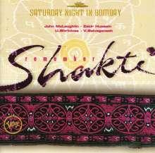 Shakti (Feat. John McLaughlin): Remember Shakti - Saturday Night In Bombay, CD