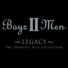Boyz II Men: Legacy: The Greatest Hits Collection, CD
