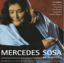 Mercedes Sosa: En Argentina: Live, CD