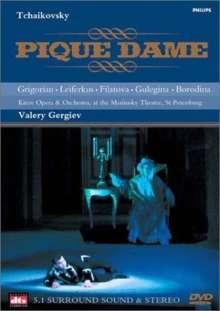 Peter Iljitsch Tschaikowsky (1840-1893): Pique Dame, DVD