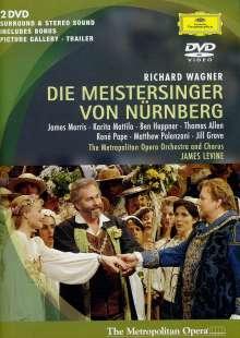 Richard Wagner (1813-1883): Die Meistersinger von Nürnberg, 2 DVDs