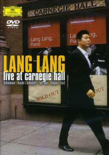 Lang Lang - Live at Carnegie Hall (7.November 2003), DVD