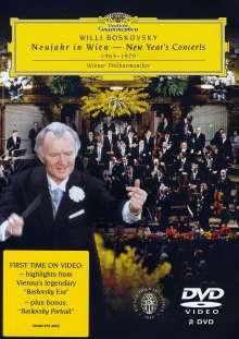 Willi Boskovsky - Best of New Year's Concert (1963-1979), 2 DVDs