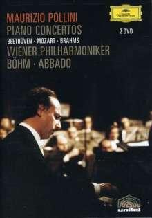 Maurizio Pollini - Piano Concertos, 2 DVDs