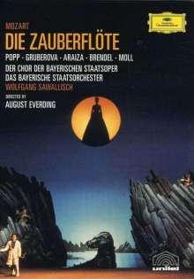 Wolfgang Amadeus Mozart (1756-1791): Die Zauberflöte, DVD