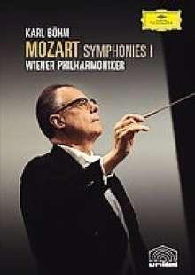 Wolfgang Amadeus Mozart (1756-1791): Karl Böhm dirigiert Mozart-Symphonien I (DVD), DVD