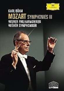 Wolfgang Amadeus Mozart (1756-1791): Karl Böhm dirigiert Mozart-Symphonien III (DVD), DVD