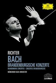 Johann Sebastian Bach (1685-1750): Brandenburgische Konzerte Nr.1-6, DVD