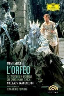 Claudio Monteverdi (1567-1643): L'Orfeo, DVD