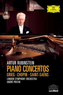 Artur Rubinstein - Fairfield Hall Concertos (DVD), DVD