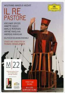 Wolfgang Amadeus Mozart (1756-1791): Mozart 22 - Il Re Pastore, DVD
