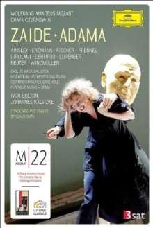 Wolfgang Amadeus Mozart (1756-1791): Mozart 22 - Zaide, 2 DVDs