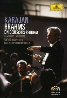 Johannes Brahms (1833-1897): Ein Deutsches Requiem op.45, DVD