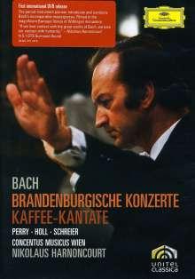 Johann Sebastian Bach (1685-1750): Brandenburgische Konzerte Nr.1-6, 2 DVDs