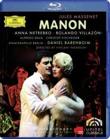 Jules Massenet (1842-1912): Manon (Blu-ray), Blu-ray Disc