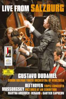 Martha Argerich & Gustavo Dudamel - Salzburg Festival, DVD