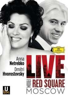 Anna Netrebko & Dmitri Hvorstovsky - Live from Red Square, Blu-ray Disc