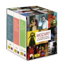 Wolfgang Amadeus Mozart (1756-1791): Mozart 22 - Sämtliche Opern (Salzburger Festspiele 2006), 33 DVDs