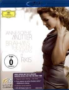 Johannes Brahms (1833-1897): Sonaten für Violine & Klavier Nr.1-3, Blu-ray Disc