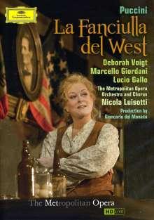 Giacomo Puccini (1858-1924): La Fanciulla del West, 2 DVDs