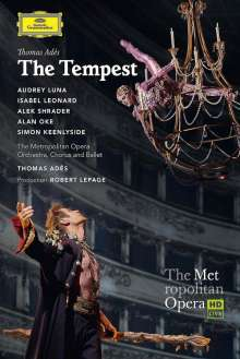 Thomas Ades (geb. 1971): The Tempest, DVD