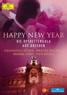 """Silvesterkonzert in Dresden 31.12.2012 - Operettengala aus Dresden """"Happy New Year"""", Blu-ray Disc"""