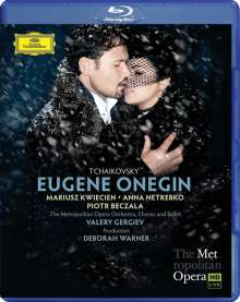 Peter Iljitsch Tschaikowsky (1840-1893): Eugen Onegin, Blu-ray Disc