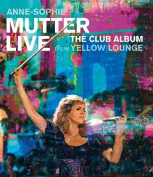 Anne-Sophie Mutter - Live From Yellow Lounge (The Club Album), Blu-ray Disc
