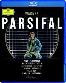 Richard Wagner (1813-1883): Parsifal, Blu-ray Disc