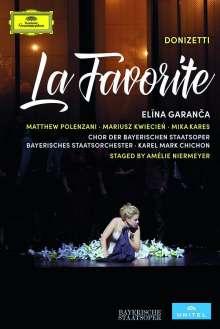 Gaetano Donizetti (1797-1848): La Favorita (in französischer Sprache), 2 DVDs