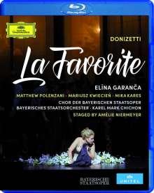 Gaetano Donizetti (1797-1848): La Favorita (in französischer Sprache), Blu-ray Disc