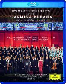 Carl Orff (1895-1982): Carmina Burana (Live from the Forbidden City), Blu-ray Disc