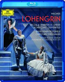 Richard Wagner (1813-1883): Lohengrin, Blu-ray Disc