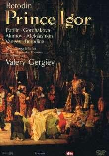 Alexander Borodin (1833-1887): Fürst Igor, 2 DVDs