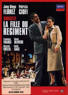 Gaetano Donizetti (1797-1848): La Fille du Regiment, 2 DVDs