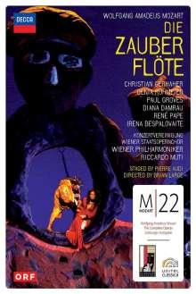 Wolfgang Amadeus Mozart (1756-1791): Mozart 22 - Die Zauberflöte, 2 DVDs