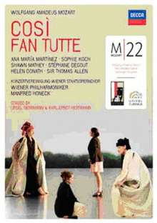 Wolfgang Amadeus Mozart (1756-1791): Mozart 22 - Cosi fan tutte, 2 DVDs