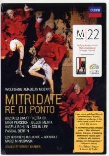 Wolfgang Amadeus Mozart (1756-1791): Mozart 22 - Mitridate,Re di Ponto, 2 DVDs